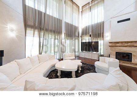 Classic Luxury Living Room Interior