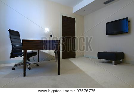 Minimalistic Office Room Interior