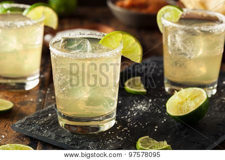 Homemade Classic Margarita Drink