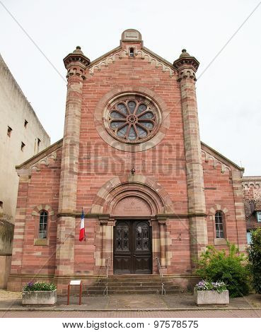 Synagogue Of Obernai, Alsace, France