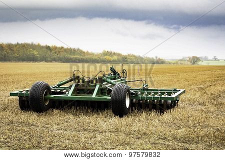 Plough In The Field