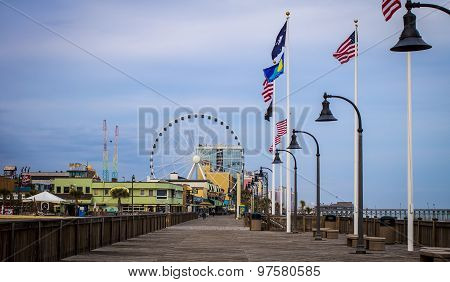 Downtown Myrtle Beach Boardwalk