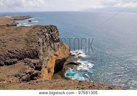 Cave Under Cliff