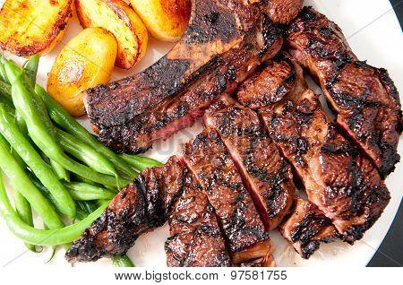 Bbq Rib Steak