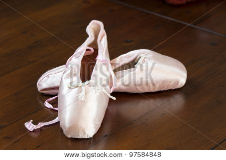 Ballet Shoes On  Display