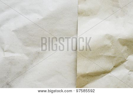 Layer Of Recycle Wrinkled Paper Texture,eco
