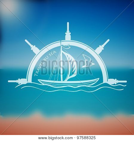 Label marine theme