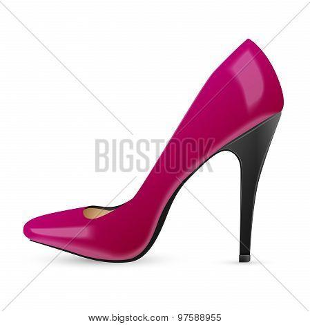 Modern womens fashion shoes