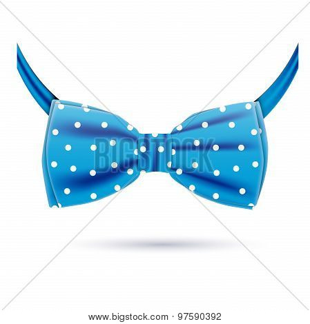 the blue bow tie