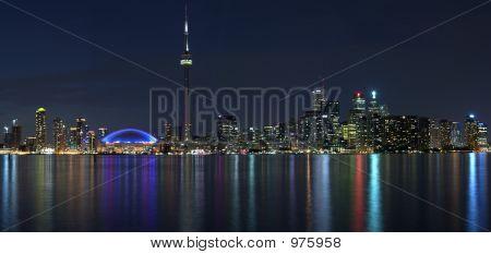Paranoma Of Toronto Waterfront