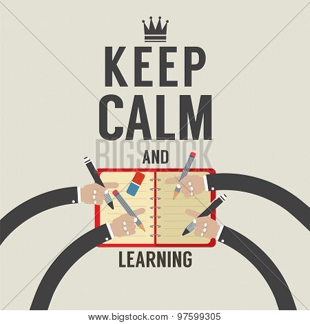Keep Calm And Learning.