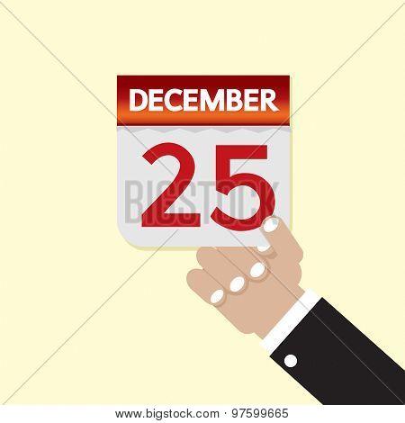 25Th December Calendar.