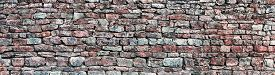 picture of slating  - Stone wall panorama - JPG