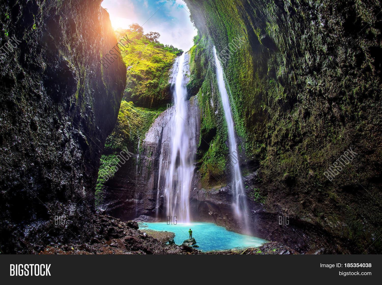 madakaripura waterfall is the tallest waterfall in java