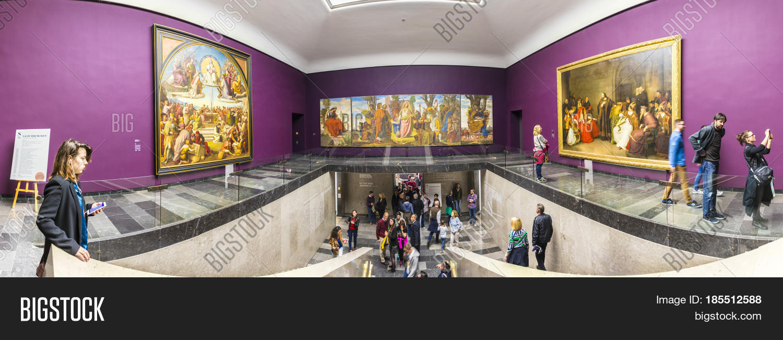 People Join Museum Night 2017 Image & Photo | Bigstock