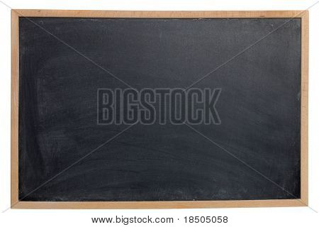 Leere Chalk Board