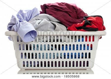 Laundry in a basket