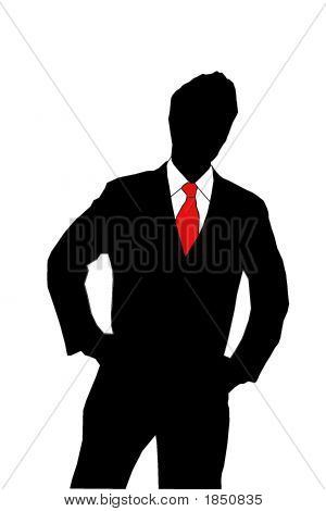 Businessman Silhouet