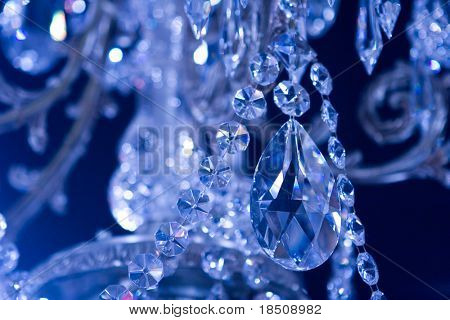 Chrystal Chandelier close up
