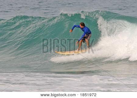 Shortboard Surfer