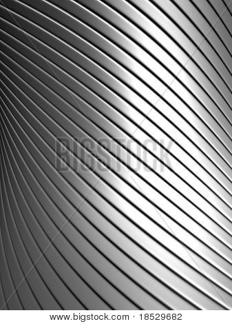 Aluminum abstract silver pattern background 3d illustration