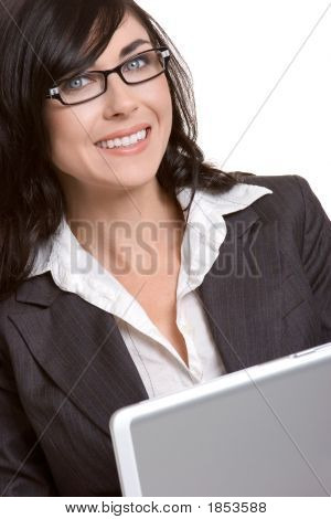 Business Laptop Woman