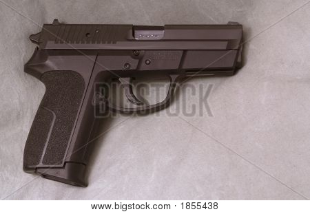 9Mm Semi Automatic Handgun