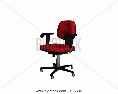 Office Chair From Right.