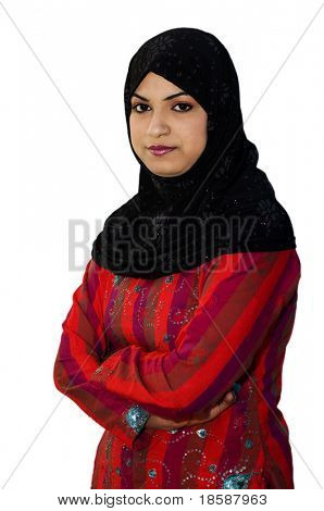 South Asian Muslim Teen Age Girl Picture Royalty Free Stock