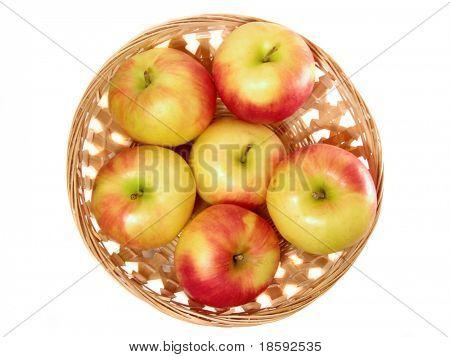 Apple in the punnet