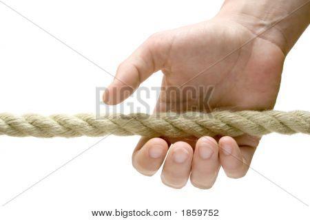 Grabbing A Rope