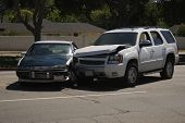 picture of bender  - Auto accident between a car and an SUV - JPG