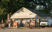 stock photo of junk-yard  - Garage Sale - JPG