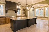 foto of opulence  - custom kitchen and diningroom - JPG