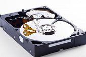 Data Inside A Hard Disk Is Encrypted