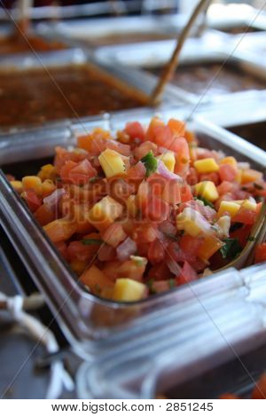 Fresh Salsa With Corn