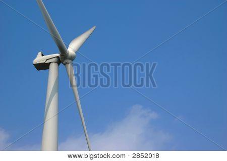 Wind Turbine Left