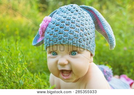 Easter Holidays Cute Baby In