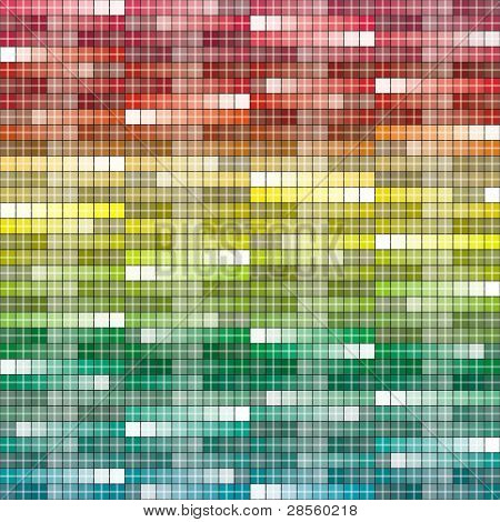 VECTOR - Abstract Background - Square - Huge Number of Colors used in attractive gradual method