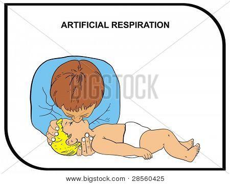 VECTOR - Artificial Respiration (Baby)