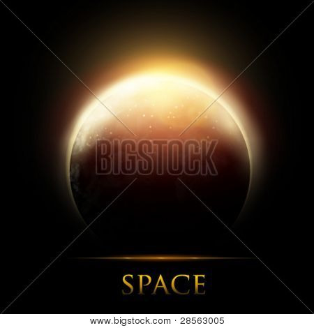 vector planet illustration