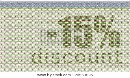 Discount Coupon -15%