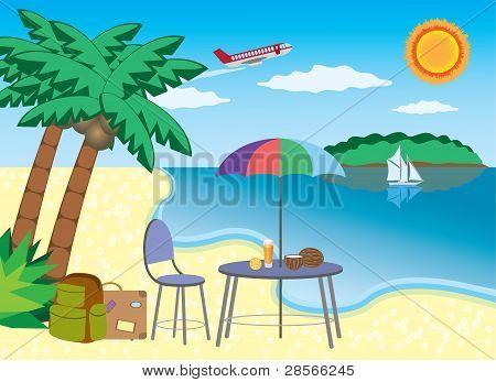 Vacation At The Seashore.
