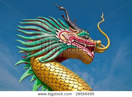 China Dragon Head