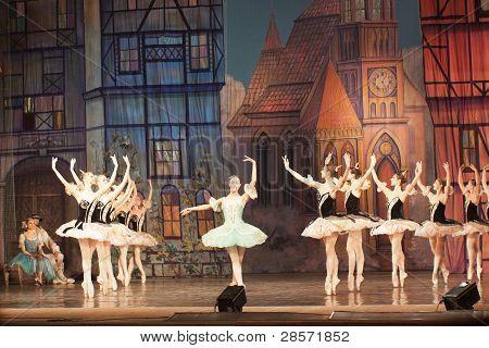 Fragment Of The Ballet