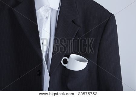 Jacket, Circle, Coffee