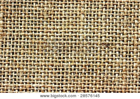 Jute knit wicker background texture