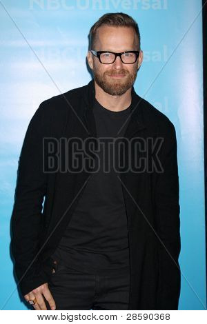 LOS ANGELES - JAN 6:  Bob Harper arrives at the NBC Universal All-Star Winter TCA Party at The Athenauem on January 6, 2012 in Pasadena, CA