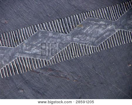 Slate carving
