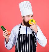 Buy Fresh Vegetables Grocery Store. Vegetarian Restaurant. Hipster Chief Chef Vegetarian Cafe. Choos poster